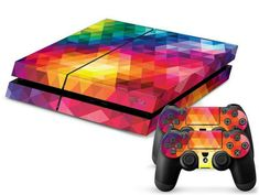 ModFreakz™ Console/Controller Vinyl Skin Set - Bright Diamond for PS4 Original#gaming #accessories #diy  #vinyl