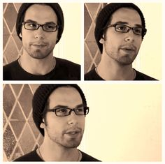 Skylar Astin. And I thought he couldn't get any more attractive..thankfully I was wrong.