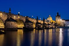 """Charles bridge - Prague's most famous attraction would definitely be Charles Bridge, which is crowded by tourist during the day. It is 620m long and 10m wide, and it has 30 statues on it. Artist, performers and beggars make their daily living on it.  You can follow me on    <a href=""""http://www.facebook.com/BlazGvajcPhotography"""">Facebook</a>       <a href=""""http://plus.google.com/+Blazgvajc/posts"""">Google+ </a>    <a href=""""http://twitter.com/blazekg"""">Twitter </a>      <a…"""
