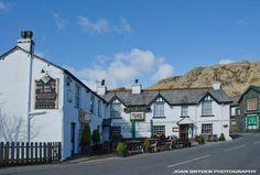 The Black Bull, Coniston, the Lake District, Cumbria
