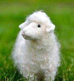 Online Needle Felting Classes, make your own Needle Felted Sheep!