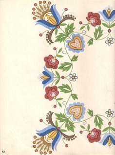 Heklowana apron: Kashubian embroidery