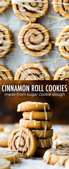 Little cinnamon roll cookies made from sugar cookie dough! Easy recipe on sallys… Little cinnamon roll cookies made from sugar cookie dough! Easy recipe on sallysbakingaddic… Cookie Dough Recipes, Chocolate Cookie Recipes, Peanut Butter Cookie Recipe, Easy Cookie Recipes, Sugar Cookies Recipe, Easy Desserts, Easy Recipes, Cinnabon Cookies Recipe, Easy Desert Recipes