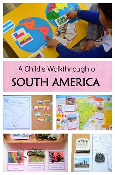 Continent Study of South America