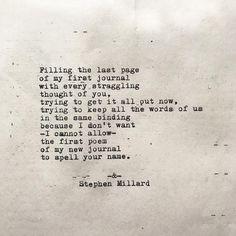 © Stephen Millard ▫ #originalpoem #poetry #poem #stephenmillard #love #wordporn #poemsofpinterest #pinterestpoetry ▫ Thank you! ▫ ©StephenMillard▫ @StephenMillard on Instagram. #1101 Qoutes For Him, Get Out Now, Poetry Poem, Thoughts Of You, I Can Not, Word Porn, Haiku, Spelling, Poems
