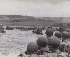 "June 1944 - Omaha Beach, Normandy - Start of D - Day - WWII - "" Operation Overlord"" The allied invasion of Nazi occupied Europe. D- Day began on the beaches of Normandy & France. D Day Normandy, Normandy Beach, Normandy France, World History, World War Ii, Us Marines, Omaha Beach, Normandy Invasion, D Day Landings"