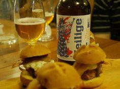 Sobre hambúrgueres cervejas e harmonização