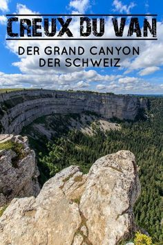 The Creux du Van is one of those incredibly fascinating destinations in Switzerland, which leave you amazed at the sight. No wonder that the spectacular Creux du Van is also known as the Grand Canyon of Switzerland. Europe Destinations, Europe Travel Tips, Travel Goals, Places To Travel, Places To See, Travel Stuff, Places In Switzerland, Switzerland Vacation, Vacations To Go