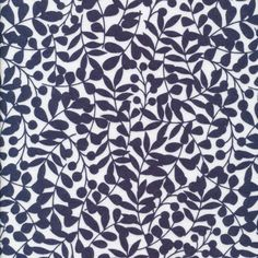138212 Branch | Navy Flannel from First Light by Eloise Renouf for Cloud9 Fabrics