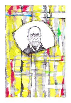 Gerhard Richter rakelt sich durch │ jompitz