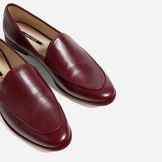 SINGLE COLOURED LOAFERS-View all-SHOES-WOMAN | ZARA United States
