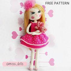 Yeni Haliyle Amigurumi Wendy Doll- New Version Amigurumi Wendy Doll - Tiny Mini Design Coin Purse Pattern, Purse Patterns, Doll Patterns, Crochet Toys Patterns, Stuffed Toys Patterns, Crochet Dolls, Mini Amigurumi, Amigurumi Doll, Free Pattern