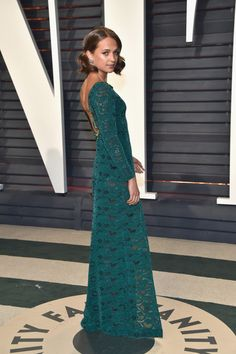 Alicia Vikander in Louis Vuitton - Every Look from the 2017 Oscars After-Parties You Can't Miss - Photos