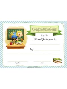 Kids Poster, Poster On, Free Certificates, Free Activities For Kids, Certificate Of Appreciation, Information Age, Congratulations, Children