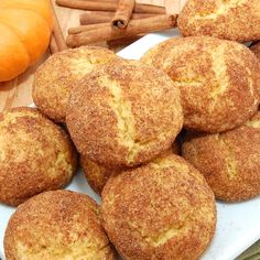 Pumpkin Snickerdoodles... these sound so good and are so festive!