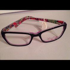 720992606f Vera Bradley Eye glass frames. NWT Marcella S Pink Swirl eye glass frames.  5117135