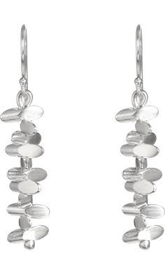 Jill Platner Silver Pixie Earrings