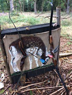 Border Bows. Black Douglas and Covert Hunter, UK field archery