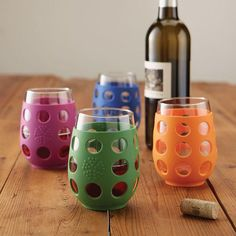 LifeFactory Break-Resistant Wine Glasses #Glasses, #ImpactResistant, #Wine