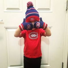 This little fan is getting ready to brave the cold with some winter Habs gear! Gears, Brave, Hockey, Cold, Fan, Winter, Winter Time, Gear Train, Fans
