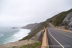 Devils Slide Trail-This old section of Pacific Coast Highway was closed to drivers but open to hikers