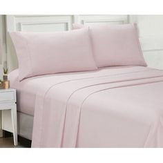 Cathay Home Inc. Ellen Tracy Microfiber Full Solid and Print Sheet Set Home - Macy's Luxury Sheets, Sweet Home Collection, Pillow Top Mattress, Home Inc, Lace Print, Fine Linens, Ellen Tracy, Cotton Sheet Sets