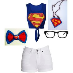 Cute superman outfit