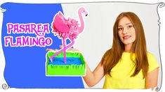 Cum sa faci pasarea flamingo creatie 🎨🎀✂ How to make flamingo bird craft Flamingo Craft, Flamingo Bird, Bird Crafts, Marker, Crafts For Kids, Watch, Youtube, How To Make, Crafts For Children