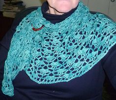 South Bay Shawlette pattern by Lion Brand Yarn