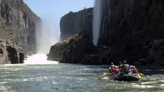 Join our white river rafting experience, priced from USD 120 - paddle your way down the Zambezi, VicFalls, as you go down and over the white water rapids! White River Rafting, Victoria Falls, Stairway To Heaven, Autumn Activities, Wild Ones, Canoe, Day Trips, Kayaking, Photo Galleries