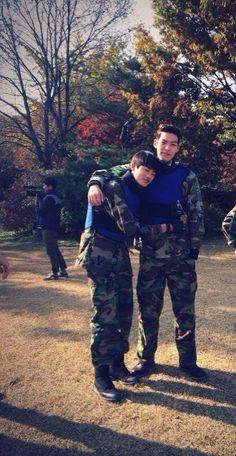 Choi Young Doi and Joo MyungSoo