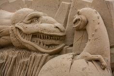 Sandy Sculpture #sandsculpture, #sand, #sculpture