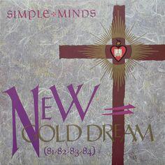 Simple Minde – New Gold Dream. By Malcolm Garrett.