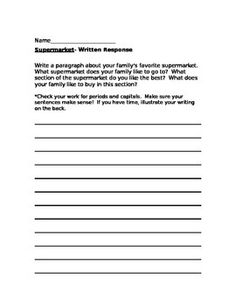 Printables Story Reading For Grade 3 what about me scott foresman reading street grade 3 unit 1 a comprehension test that goes along with the story supermarket included is also an extended written response activ