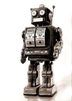 robot vintage - Recherche Google