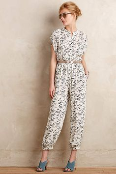 Serengeti Jumpsuit - anthropologie.com