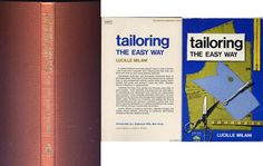 tailoring and sewing collectible books, price lowered.