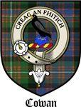 Cowan Clan Crest / Cowan Tartan / Cowan Clan Badge