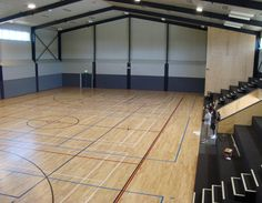 Metal building with a basketball court stuff i plan on for House plans with indoor sport court
