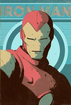 Iron Man by Dave Rapoza *