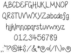 Wednesday font by ByTheButterfly - FontSpace