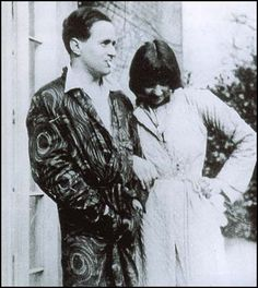 Stephen Tomlin and Dora Carrington.  Tomlin was an artist who had an affair with Dora which ended when he married Julia Strachey in 1927.  He sculpted a bust of VW and LS