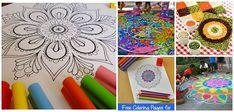 Mandalas para niños | Aprender manualidades es facilisimo.com