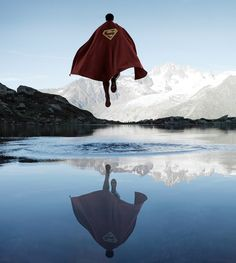 The Quest for the Absolute: Superheroes surrounded by beautiful landscapes | by Benoit Lapray
