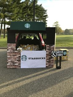 Starbucks Trunk or Treat