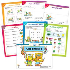 Cat And Dog At School Ebook & Worksheets – Creative Teaching Press Improve Reading Comprehension, Reading Strategies, Math Minutes, Learn To Read Books, Nouns And Pronouns, Creative Teaching Press, Spelling Patterns, Math Work, Emergent Readers