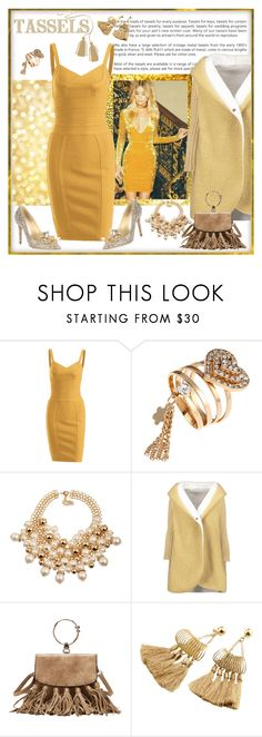 """Tassels & Sparkles"" by carola-corana ❤ liked on Polyvore featuring Jimmy Choo and zaful"