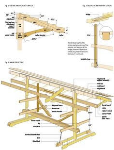 Boat Plans - free canoe boat rack wood plans size free canoe boat rack - Master Boat Builder with 31 Years of Experience Finally Releases Archive Of 518 Illustrated, Step-By-Step Boat Plans Canoe Boat, Canoe And Kayak, Kayak Fishing, Canoe Trip, Fishing Boats, Diy Kayak Storage, Boat Storage, Storage Ideas, Kayak Stand