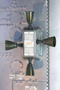 Space Frontier Photographic Print: Apollo Service Module Thruster Quad by Mark Williamson : - Nasa Missions, Moon Missions, Apollo Missions, Apollo Space Program, Nasa Space Program, Apollo 11, Kennedy Space Center Florida, Apollo Spacecraft, Nasa History