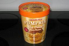 Pumpkin ice cream- Trader Joe's* this is delicious. put a scoop on homemade pumpkin bread!